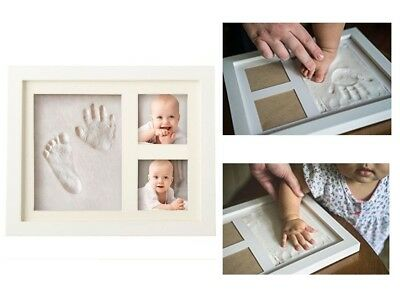 Affordable Cute Elegant Cool Unique Baby Hand Footprint Picture Photo Frame Kit