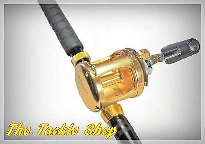 "6'10"" 37Kg 2 spd Roller Big Game Combo - Alloy GTR30 Legion Reel+TR80 PacBay Rod"