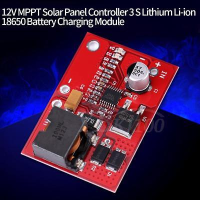 3S Lithium Battery Li-ion Cell Charging Charger Module MPPT Solar Controller stw