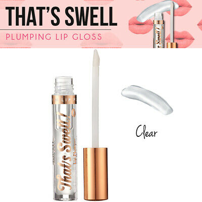 Barry M That's Swell Fuller Plumping Volumised Smoother Enhanced Lip Gloss Clear