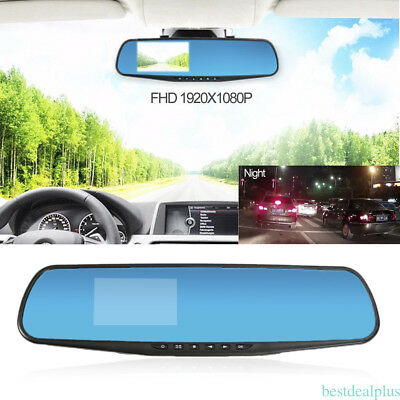 1080P Full HD Car Truck Rear View Mirror Camera Car Recorder with USB cable YH