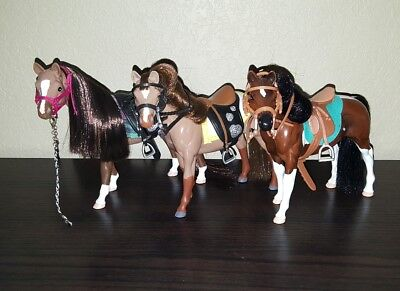 Grand Champion Horse C/M Custom Mares Set Lot of 3 *DISPLAY ONLY*