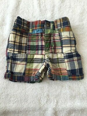 Polo Ralph Lauren Madras Shorts Sz 9m