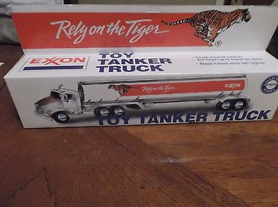 Exxon Rely on the Tiger Toy Tanker Truck