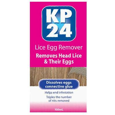 Kp24 Lice Egg Remover 100Ml Removes Dead Head Lice And Their Eggs