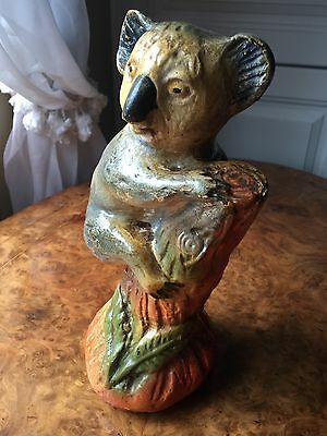 Australian Chalkware Carnival Koala From 1930 Onwards