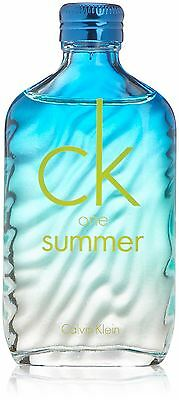 Calvin Klein CK One Summer 100ml EDT Spray A New Fragrance Sealed