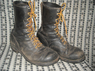 Vtg 40S 50S 8.5 9.5 Mens Chippewa Work Motorcycle Biker Engineer Boots