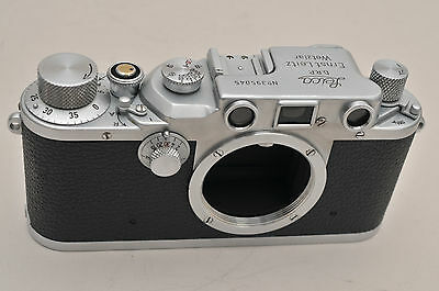 """Leica IIIc """"Stepper"""" Body - Late production in final batch, 1946"""