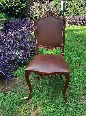 Set of 6 Antique French Louis XV Chairs