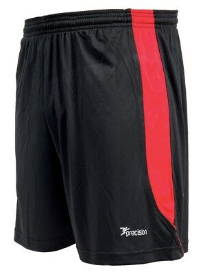 Precision Real Shorts (Black/Anfield Red)