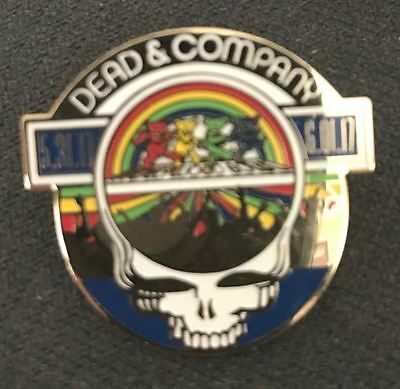 Dead And Company HOLLYWOOD BOWL PIN BADGE Grateful Dead SOLD OUT, LOOK