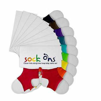 Sock Ons - 0-6 Months - All colours & now Packs of 2 - FREE P&P - Fast Dispatch