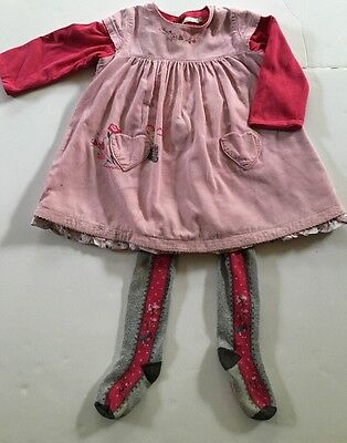 Catimini Girls Dress And Tights 12 Months 2015/16 Collection