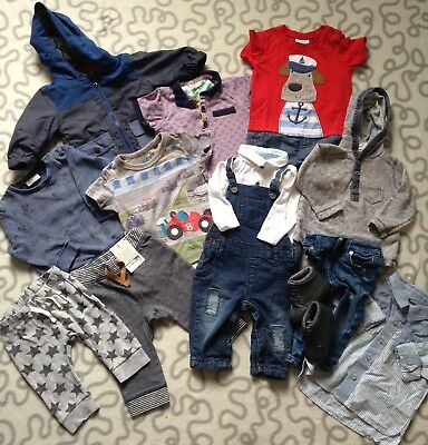 Baby Boys Next Ted Baker 3-6 Months Clothing Bundle One Bnwt Leggings Zara