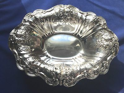 Antique Sterling Silver Reed & Barton Francis I Footed Bowl 685/g X566F