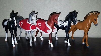 Grand Champion Horse C/M Custom Foals Set Lot of 5 **DISPLAY ONLY**
