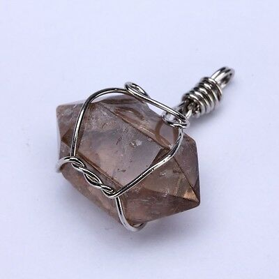 Smoky quartz is a remarkable aid for quitting smoking detoxification/elimination