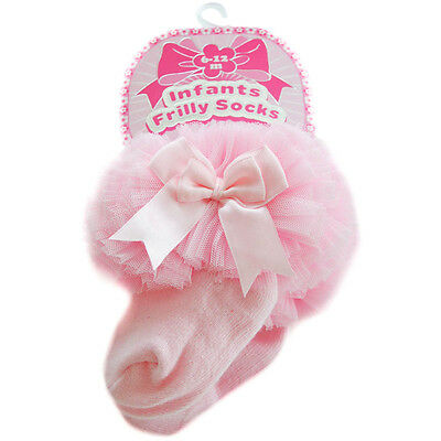 SOFT TOUCH Baby Girl Clothes Pink Tutu Romany Socks BNIP Sizes 6-12m or 12-18m