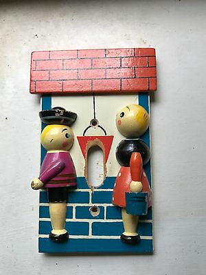 Vintage Story Book Light Switch Cover