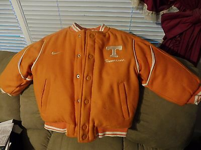 Preowned Nike Youth University of Tennessee Volunteers Letterman Jacket Size 4