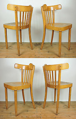 Utility Furniture CC41 Bentwood Dining Chairs Vintage Retro Thonet Ben Chair Sty