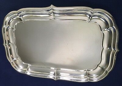 Antique Sterling Silver .925 Rectangular Platter Reed & Barton Windsor x956