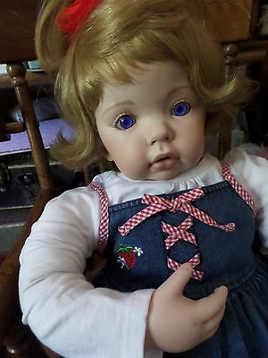 Reduced! Tibby by Donna Rubert Ceramic Toddler Terrible Twos 1997