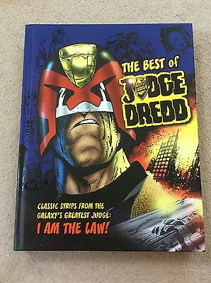 The Best Of Judge Dredd I Am The Law Classic Strips Graphic Novel Compilation