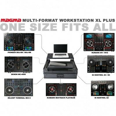 MAGMA MULTI FORMAT WORKSTATION XL PLUS flight case universale x dj 550x330x45mm