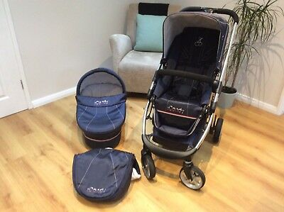 Icandy Travel System- Pram & Pushchair ( With Cosy Toes & Rain Cover)
