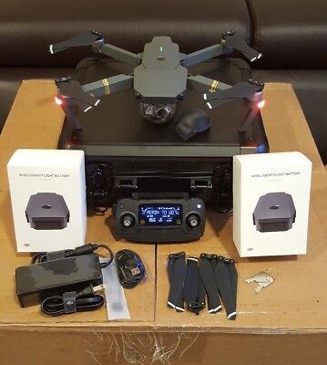 DJI Mavic Pro Drone with 4K Camera GPS, WiFi with Extra Accessories