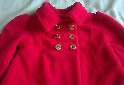 kids headquarters red button coat jacket infant girls tops size 12 month dressy