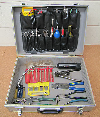 Tools Electronic Technicians Test Service Kit Aluminum Case Set of Quality Tools