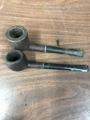 LOT OF 2! Vintage, Collectors Tobacco Smoking Pipes!