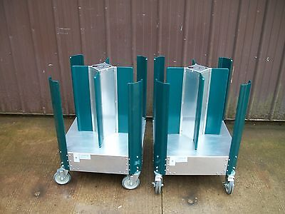 New Cres Cor Poker Chip Plate Dolly Dollies 50110240 Holders Transport Cart
