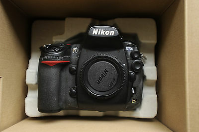 "D700 NIKON DIGITAL CAMERA ""low shutter 37577"" 12.1 MP A++ cond  F MOUNT *BOXED*"