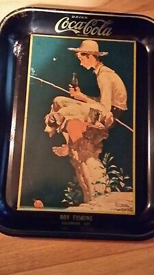 Norman Rockwell Coca-Cola serving tray