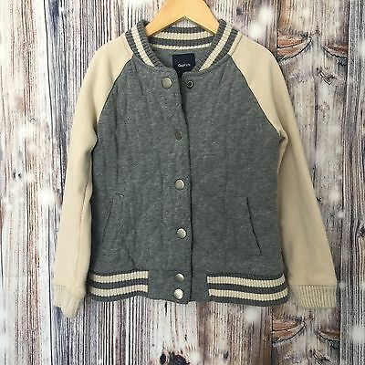 GapKids Jacket Double Knit Quilted Baseball Size Small 6/7 Years