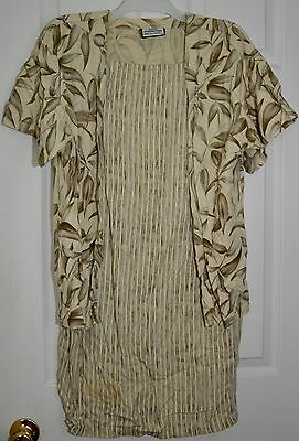 Kasuri International Hawaii Maternity Nursing Dress Size Medium