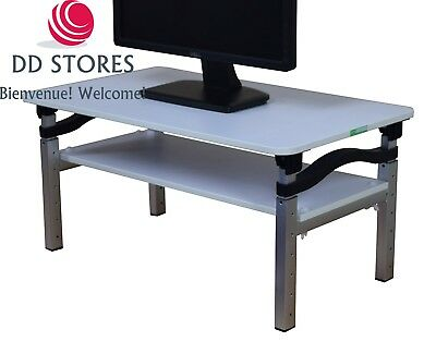 Uncaged Ergonomics Computer Monitor Stand for Sitting and Standing Desk -...