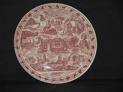 Vernon Kilns *state Of Arizona* Plate