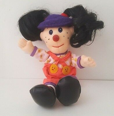"""THE BIG COMFY COUCH LOONETTE the CLOWN 9"""" PLUSH DOLL"""