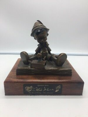 Ollie Johnston Pinocchio Bronze Sculpture (S11021962)