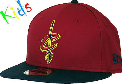 Cleveland Cavaliers New Era 950 Kids NBA Team Snapback Cap (Age 5 - 10 years)