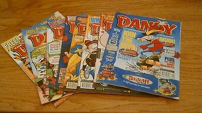 The Dandy Comic 8 Issues From 2003.