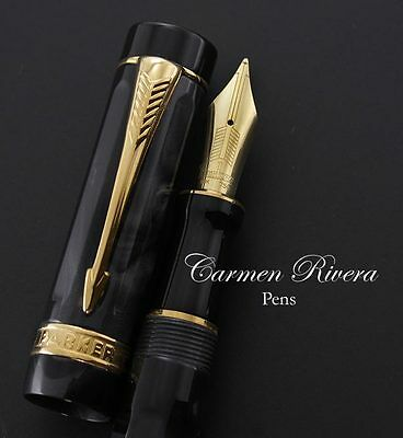 Parker Duofold Lucky 8 Fountain Pen Limited Edition | Carmen Rivera Pens