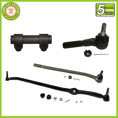 4 PC Kit Steering Parts F100 F250 73-79 RWD Center Link Tie Rod Ends Sleeve
