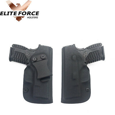 "Springfield Xds 3.3"" Gun Holster Kydex Iwb ~Dual Sweat Shield~"