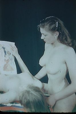 Risque Slide....# 568-2.....pinup Girl....nudes